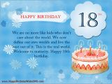 Happy Birthday Quotes for Parents 18th Birthday Wishes for son Daughter Happy Birthday