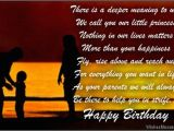 Happy Birthday Quotes for Parents there is A Deeper Meaning to why We Call You Our Little