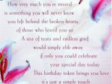 Happy Birthday Quotes for Sister who Passed Away Happy Birthday Poem for A Mom that Passed Away Happy