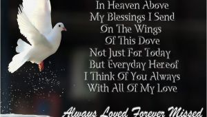 Happy Birthday Quotes for someone In Heaven Happy Birthday Quotes for People In Heaven