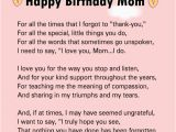 Happy Birthday Quotes for son From Mom Happy Birthday Mom Quotes