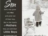 Happy Birthday Quotes for son From Mom Happy Birthday Quotes for son From Mom Image Quotes at