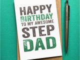 Happy Birthday Quotes for Stepdad Happy Birthday Step Dad Greetings Card by Do You Punctuate