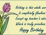 Happy Birthday Quotes for Teacher In Hindi Birthday Wishes for Teachers Quotes and Messages