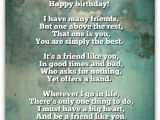 Happy Birthday Quotes for Your Best Guy Friend Best Buddy Birthday Poem Nicewishes