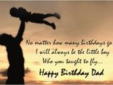 Happy Birthday Quotes From Father to son Happy Birthday Dad Quotes Father Birthday Quotes Wishes