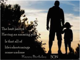 Happy Birthday Quotes From Father to son Happy Birthday Greetings for son Birthday Wishes Messages