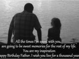 Happy Birthday Quotes From Father to son top 10 Birthday Wishes for My Dad Freshmorningquotes