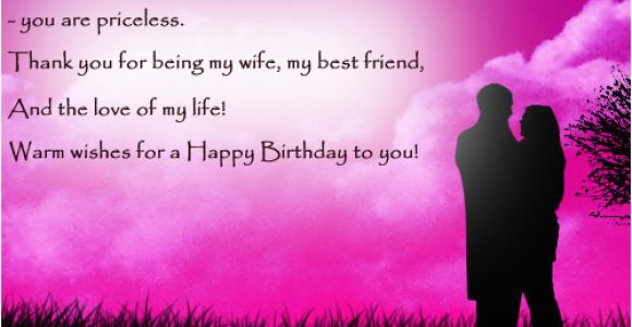 Happy Birthday Quotes From Husband to Wife Happy Birthday Quotes for Wife Quotesgram