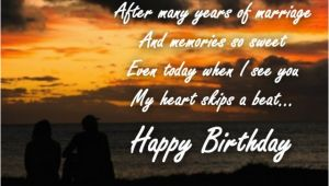 Happy Birthday Quotes From Wife to Husband Birthday Wishes for Wife Quotes and Messages