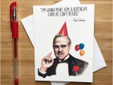 Happy Birthday Quotes In Italian Funny Don Movie Quote Birthday Card Movie Nerds Movie