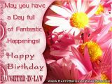 Happy Birthday Quotes Messages Pictures Sms and Images Birthday Wishes for Daughter In Law Happy Birthday