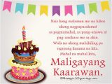 Happy Birthday Quotes Tagalog Best 25 Birthday Message Tagalog Ideas On Pinterest