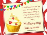 Happy Birthday Quotes Tagalog Happy Birthday Messages In Tagalog Wordings and Messages