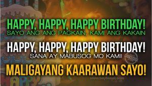 Happy Birthday Quotes Tagalog Tagalog Birthday Quotes Quotesgram