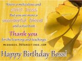 Happy Birthday Quotes to A Boss Birthday Wishes for Boss 365greetings Com