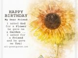 Happy Birthday Quotes to A Dear Friend Happy Birthday My Dear Friend Free Birthday Cards for