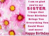 Happy Birthday Quotes to A Sister Dear Sister Happy Birthday Quote Wallpaper