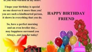 Happy Birthday Quotes to A Special Friend Birthday