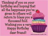 Happy Birthday Quotes to A Special Friend Happy Birthday Quotes and Messages Quotesgram