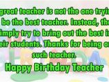 Happy Birthday Quotes to A Teacher top 110 Sweet Happy Birthday Wishes for Family Friends