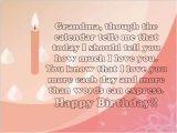 Happy Birthday Quotes to Grandma Sweet 25 Happy Birthday Grandma Wishes and Quotes