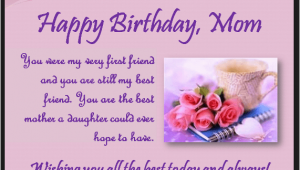 Happy Birthday Quotes to son From Mother Heart touching 107 Happy Birthday Mom Quotes From Daughter
