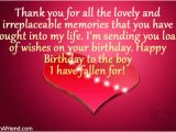 Happy Birthday Quotes to Your Boyfriend Happy Birthday to My Boyfriend Quotes Quotesgram