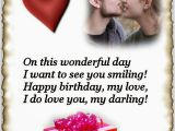 Happy Birthday Quotes to Your Lover All Wishes Message Greeting Card and Tex Message