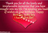 Happy Birthday Quotes to Your Lover Happy Birthday to My Boyfriend Quotes Quotesgram