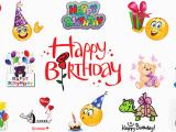 Happy Birthday Quotes with Emojis Birthday Emoticons Symbols Emoticons
