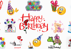 Happy Birthday Quotes with Emojis Birthday Emoticons Symbols Emoticons
