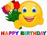 Happy Birthday Quotes with Emojis Gifs Happy Birthday Google Search Smileys Pinterest
