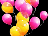 Happy Birthday Ribbon Banner Clipart Pin by Pink Maiden On Clipart Yellow Balloons Balloons