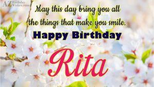 Happy Birthday Rita Quotes Happy Birthday Rita
