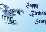 Happy Birthday Scorpio Quotes Scorpio Birthday Quotes Quotesgram