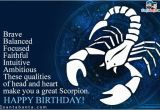 Happy Birthday Scorpio Quotes Scorpio Birthday Sms