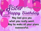 Happy Birthday Sister Bible Quotes Birthday Wishes for My Dear Sister Christian Quotes and
