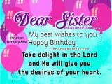 Happy Birthday Sister Bible Quotes Christian Birthday Cards for My Sister Happy Birthday