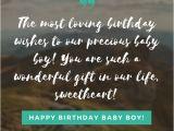 Happy Birthday Sister Emotional Quotes Happy Birthday Baby Boy 33 Emotional Quotes that Say It All