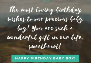 Happy Birthday Sister Emotional Quotes Happy Birthday Baby Boy 33 Emotional Quotes that Say It All