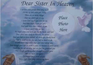 Happy Birthday Sister In Heaven Quotes Best 25 Sister In Heaven