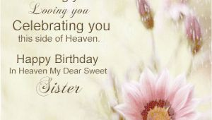 Happy Birthday Sister In Heaven Quotes Happy Birthday In Heaven Quotes for Facebook Quotesgram