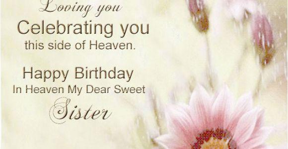 Happy Birthday Sister In Heaven Quotes Happy Birthday In Heaven Quotes for Facebook Quotesgram