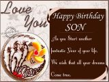 Happy Birthday son Cards for Facebook Birthday Wishes to son From Parents Wishbirthday Com