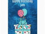 Happy Birthday son Cards for Facebook Happy Birthday son Card Zazzle