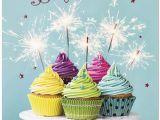 Happy Birthday Sparkling Cards Sparkle Cakes Birthday Card Business Birthday Cards