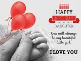Happy Birthday Special Daughter Quotes Happy Birthday Daughter From Mom Quotes Messages and Wishes