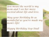 Happy Birthday Step Dad Quotes Happy Birthday Wishes for Step Dad Wishesgreeting