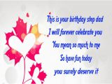 Happy Birthday Step Dad Quotes Happy Birthday Wishes for Step Father Birthday Messages